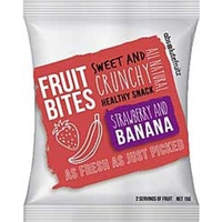 Absolute Fruitz Bites Strawberry Banana 15g