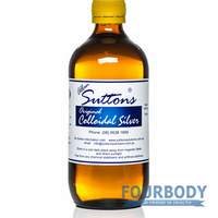 Allan Suttons Original Colloidal Silver 500ml