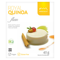 Andean Valley Royal Quinoa Flan with Stevia 40g