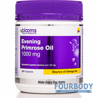 Blooms Evening Primrose Oil 1000mg 200 caps
