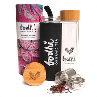 Bodhi Organic Tea Eco Glass Tea Flask 400ml