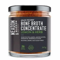 Meadow & Marrow Bone Broth Concentrate Lemon Herb 260g