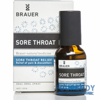 Brauer Sore Throat Oral Spray 20ml