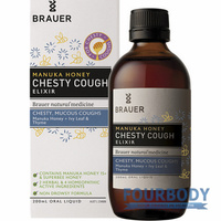 Brauer Manuka Honey Chesty Cough 200ml