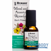 Brauer Mood & Anxiety Bach Flower 20ml