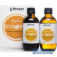 Brauer 20 Day Detox Twin Pack 2 x 200ml