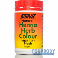 Bonvit Natural Henna Herb Colour Black 100g