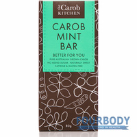 The Carob Kitchen Carob Mint Bar 80g