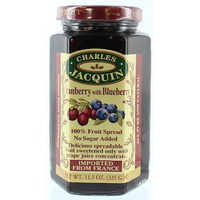 Charles Jacquin Fruit Spread Cranberry & Blueberry 325g