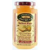 Charles Jacquin Fruit Spread Gourmet Pear 325g
