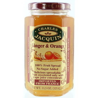 Charles Jacquin Fruit Spread Orange & Ginger 325g