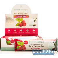 Coconut Magic Raspberry Raw Energy Bar 45g