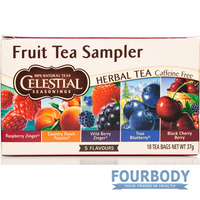 Celestial Tea Fruit Sampler 42g 18 tea bags