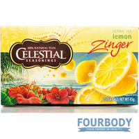 Celestial Tea Lemon Zinger 45g 20 tea bags
