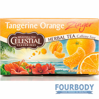 Celestial Tea Tangerine Orange Zinger 47g 20 tea bags