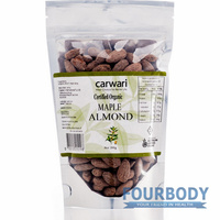 Carwari Organic Maple Almond 200g