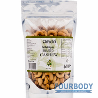Carwari Organic Roasted Cashew 200g