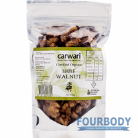 Carwari Organic Maple Walnut 100g