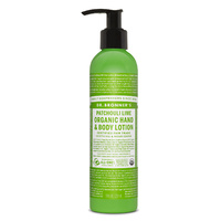 Dr Bronners Organic Lotion Patchouli Lime 237ml