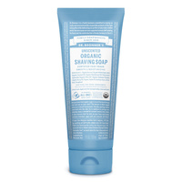 Dr Bronners Shaving Gel Baby Unscented 207ml