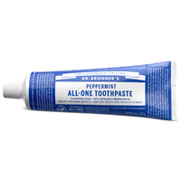 Dr Bronners All-One Toothpaste Peppermint 140g
