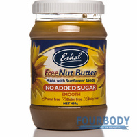 Eskal Freenut Butter NO Sugar Smooth 450g