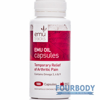 Emu Tracks Emu Oil 750mg 100 caps