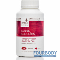 Emu Tracks Emu Oil 750mg 250 caps
