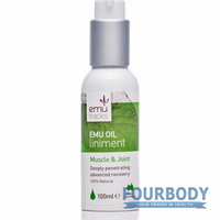 Emu Tracks Emu Oil Injury Relief Liniment 100ml