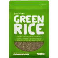 Forbidden Foods Organic Green Rice 500g