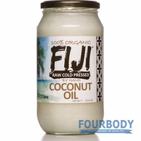 Coco Fiji Coconut Oil Raw Organic 1L