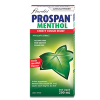 Flordis Prospan Adult Menthol Syrup 200ml
