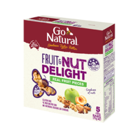 Go Natural Fruit & Nut DeLight 5pk 175g
