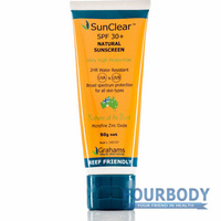 Graham's Natural SunClear Sunscreen 30+ 50g