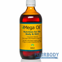 Graham's Natural Mega Oil 500ml