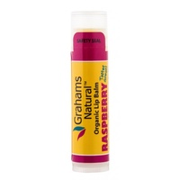 Graham's Organic Lip Balm Raspberry 4.25g