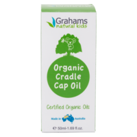 Graham's Natural Cradle Cap Oil with Comb 50ml