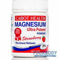 Cabot Health Magnesium Ultra Potent Strawberry 200g