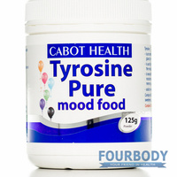 Cabot Health Tyrosine Pure Powder 125g