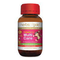 Herbs Of Gold Children's Multi Care 60 chewable tabs