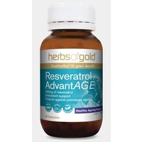 Herbs of Gold Resveratrol AdvantAGE 60 vcaps