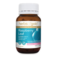 Herbs Of Gold Raspberry Leaf 60 tabs