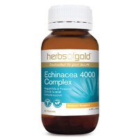 Herbs Of Gold Echinacea 4000 Complex 60 tabs