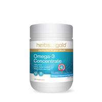 Herbs Of Gold Omega-3 Concentrate 100 caps