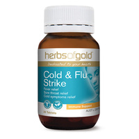 Herbs Of Gold Cold & Flu Strike 30 tabs