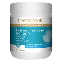 Herbs of Gold Evening Primrose Oil 1000 200 caps