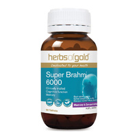 Herbs Of Gold Super Brahmi 6000 60 tabs