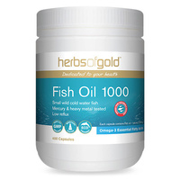Herbs Of Gold Fish Oil 1000 400 caps