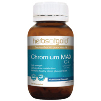 Herbs Of Gold Chromium Max 120 vcaps