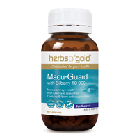 Herbs Of Gold Macu Guard with Bilberry 60 vcaps